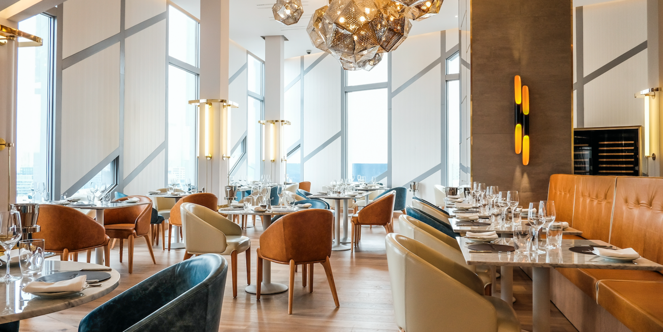 URBAN COTERIE: Bottomless brunching with a view
