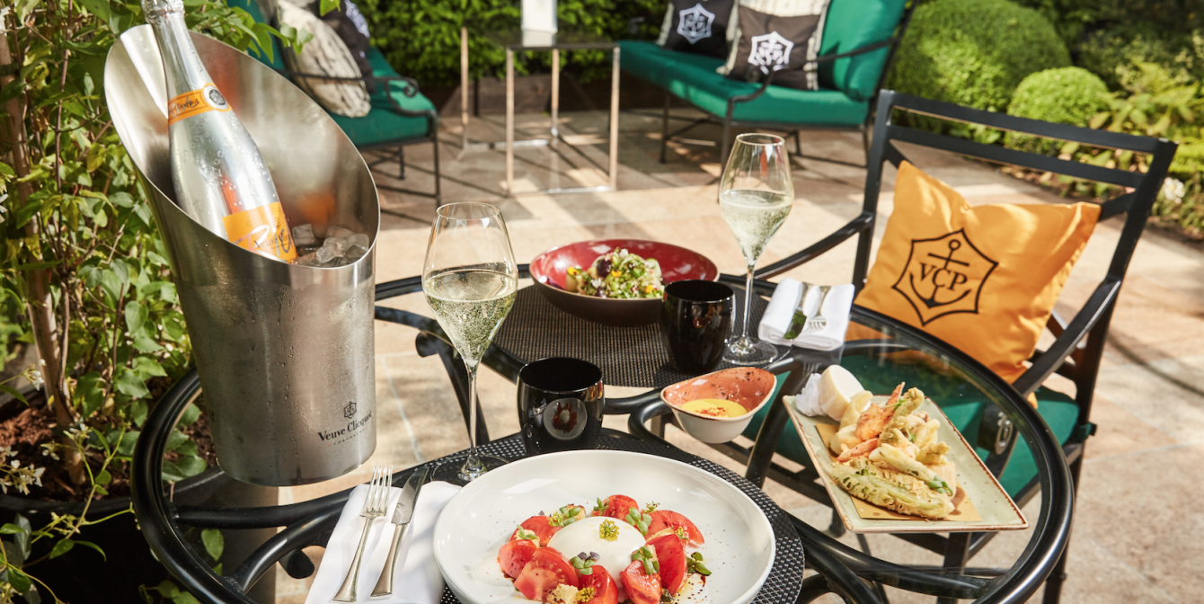 VEUVE CLICQUOT: Celebrating all that summer has to offer with a 'secret garden', delicious small plates and champagne