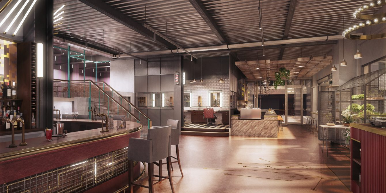 TRADE UNION: All-encompassing space comes to Wapping