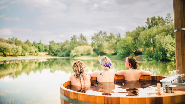 BATHING UNDER THE SKY: Meeting the founders behind the festival wellness revolution