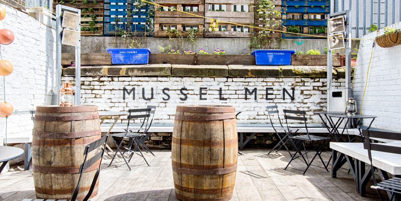 Mussel Men: Signature seafood feasts in Dalston.