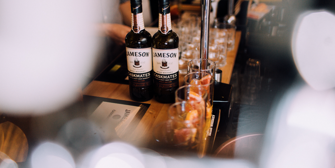 JAMESON CASKMATES: Whiskey brand collaborates with Disappearing Dining Club to host a one off event!