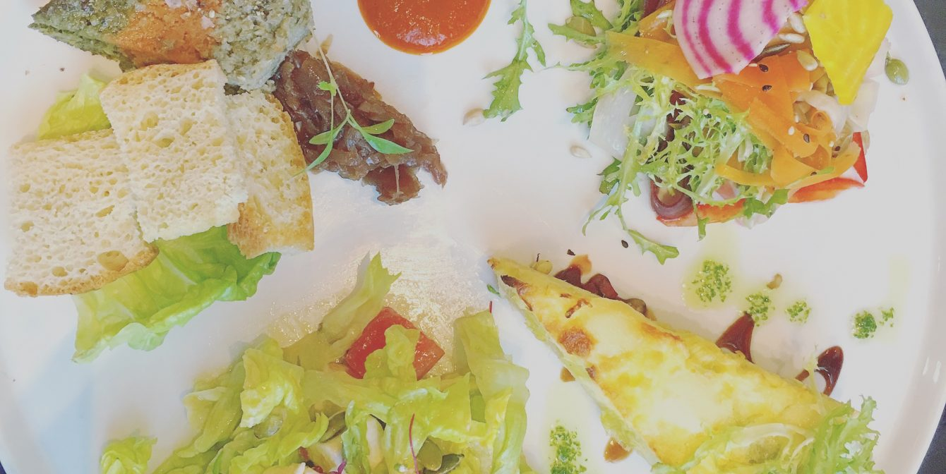 THE GATE: Vegetarian's paradise in the heart of London, converts the heartiest of meat eaters