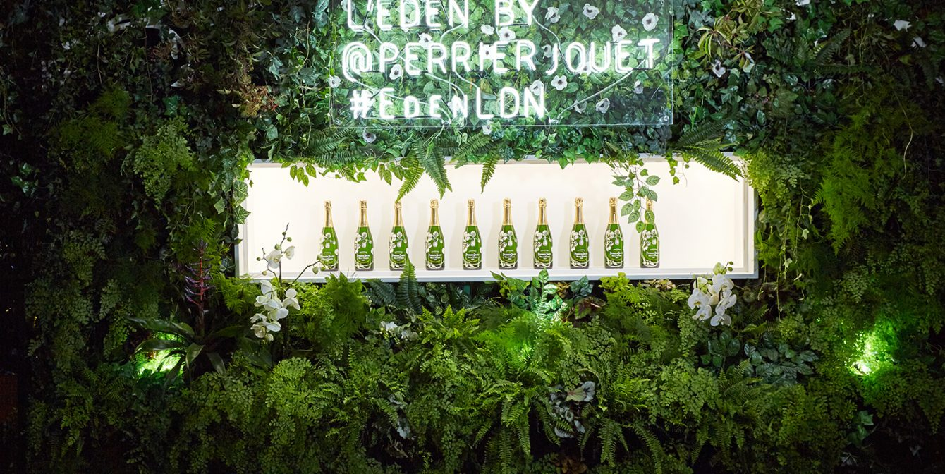 L'EDEN BY PERRIER-JOUËT: The world's first bio-responsive garden by Bompas & Parr