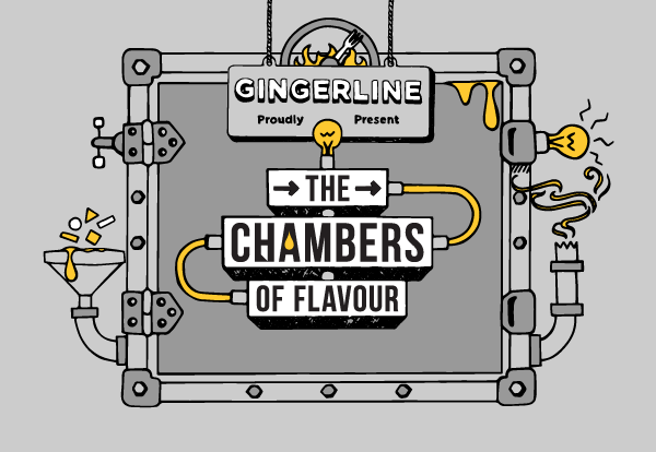 THE CHAMBERS OF FLAVOUR: Gingerline's mighty dream generating machine
