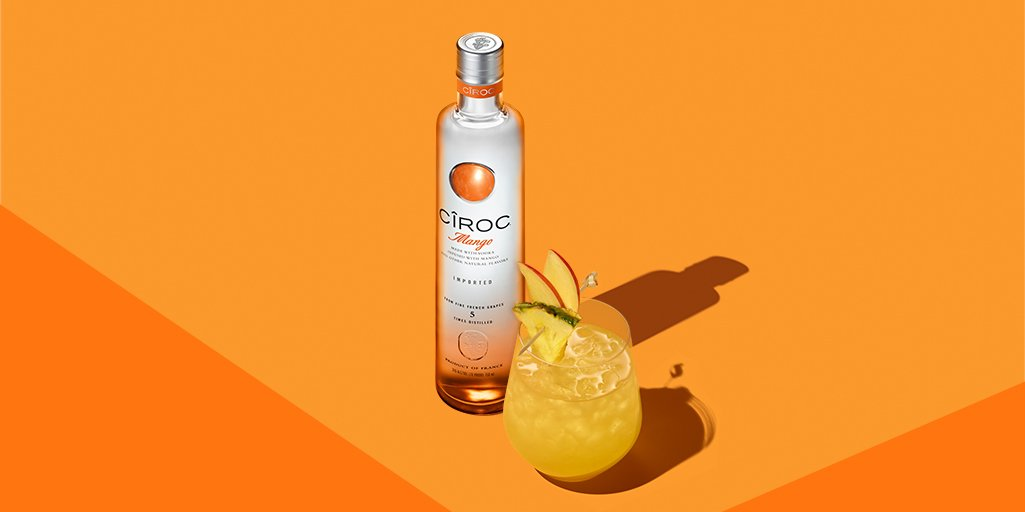 CIROC MANGO: Tropical Vs Jungle cocktails by Sweet & Chilli