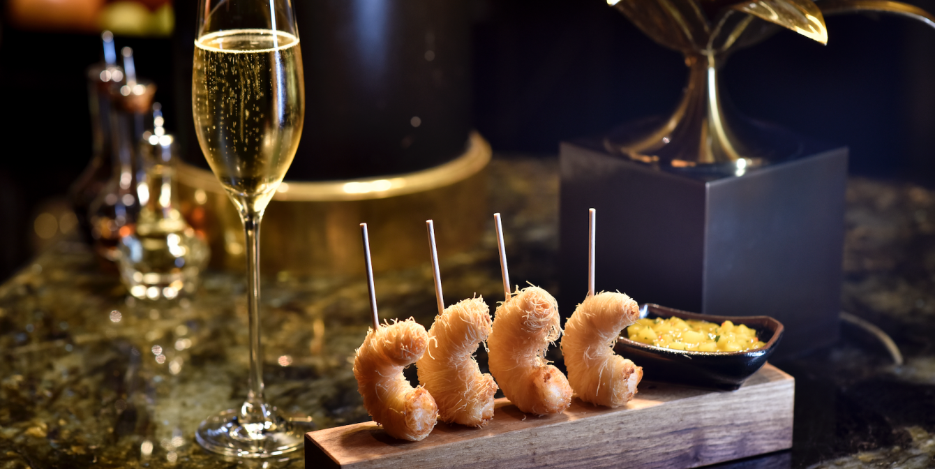 BEAUFORT BAR: Introduces new canapés just in time for festive season