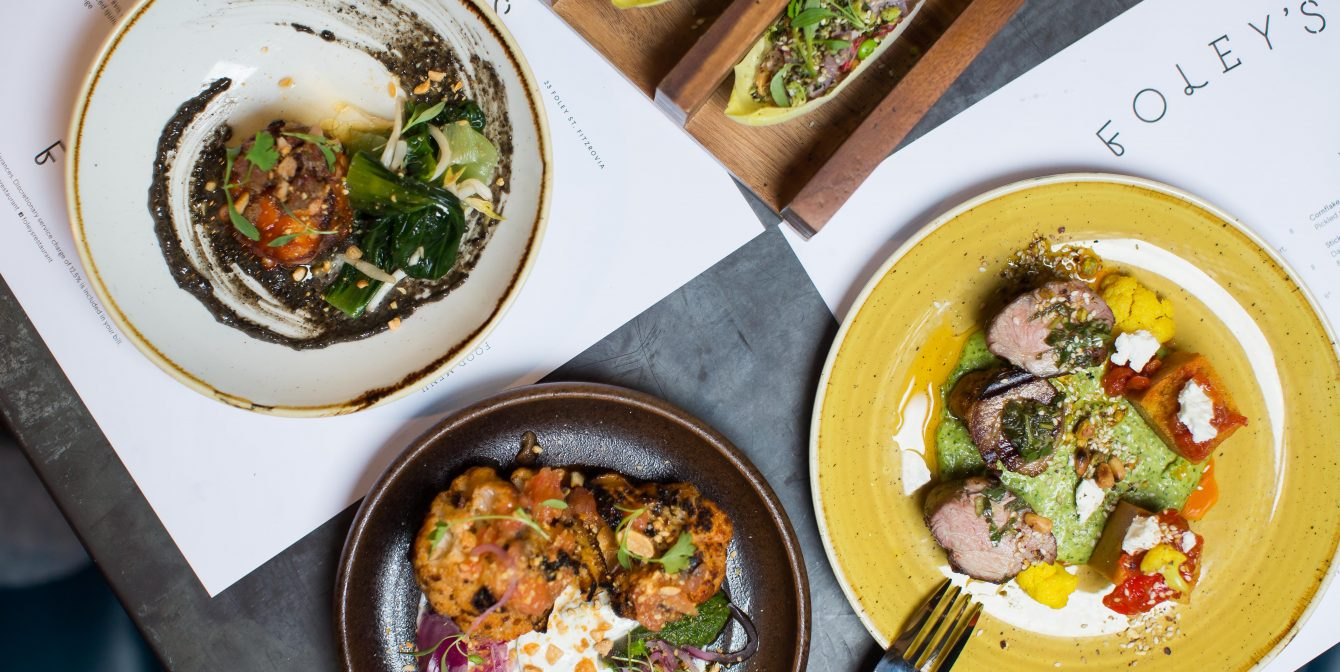 FOLEY'S: Fantastical plates inspired by Asia