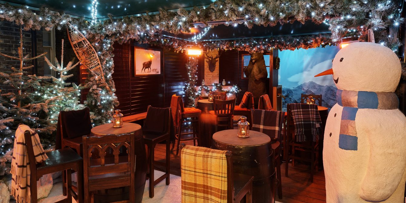 MONTAGUE SKI LODGE: A blizzard of butterscotch schnapps and turkey schnitzel at this secret alpine spot