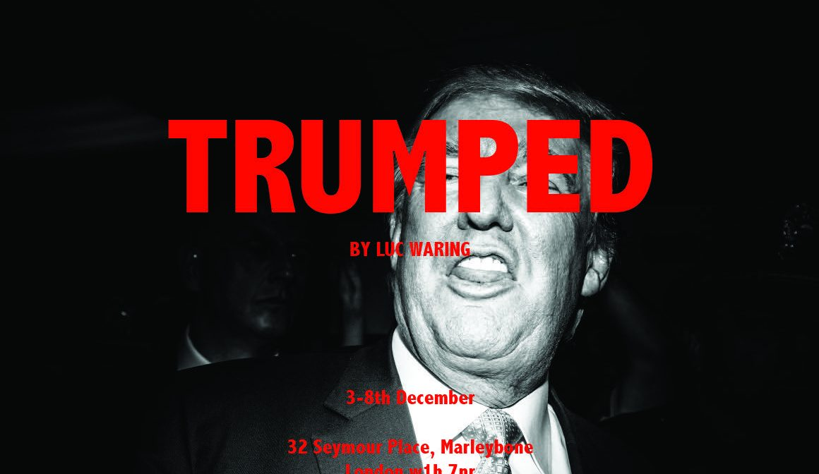 TRUMPED BY LUC WARING: Exhibition 2-8th Dec, Marylebone