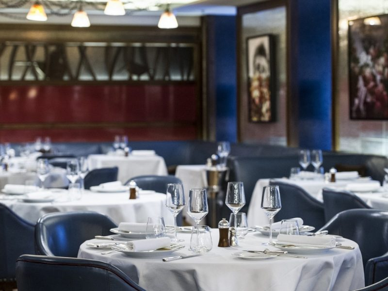 CORRIGAN'S: James Bond would feel right at home at this sophisticated spot, where the Sunday lunches are to die for