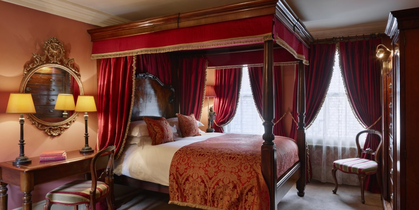 THE ROOKERY: Butlers with breakfast, four-poster beds and 18th century charm at this discreet spot