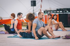 Yoga at Noisily Festival 2017