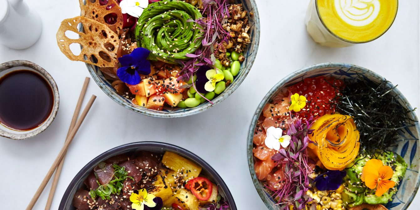 KAIA: The Ned's bustling poke bar serves up a rainbow of colour to tantalise the senses