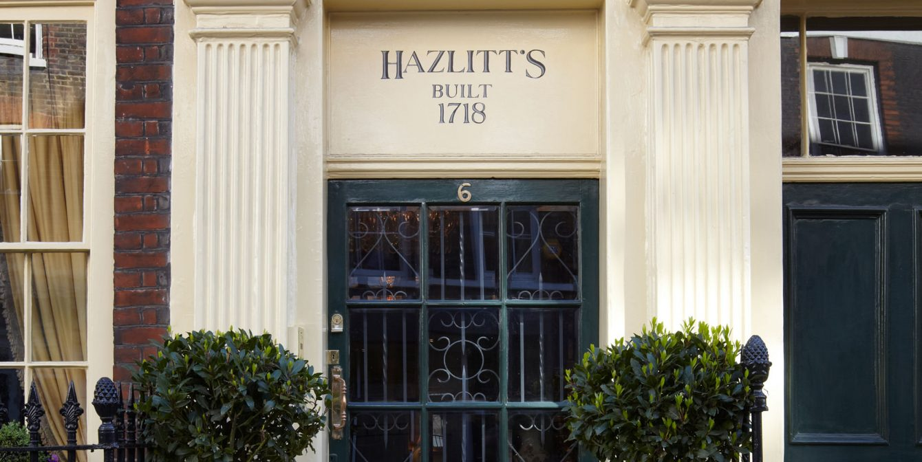 HAZLITT'S: The most eccentric toilet in London at this sumptuous staycation spot