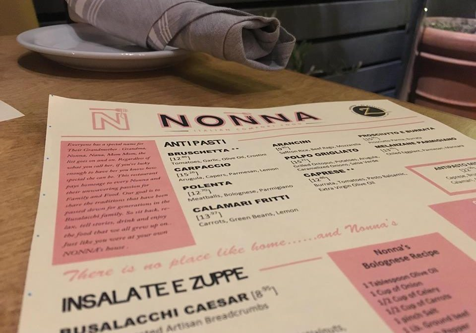 NONNA: Grandmother's recipes stand the test of time at one of San Diego's newest Italian restaurants