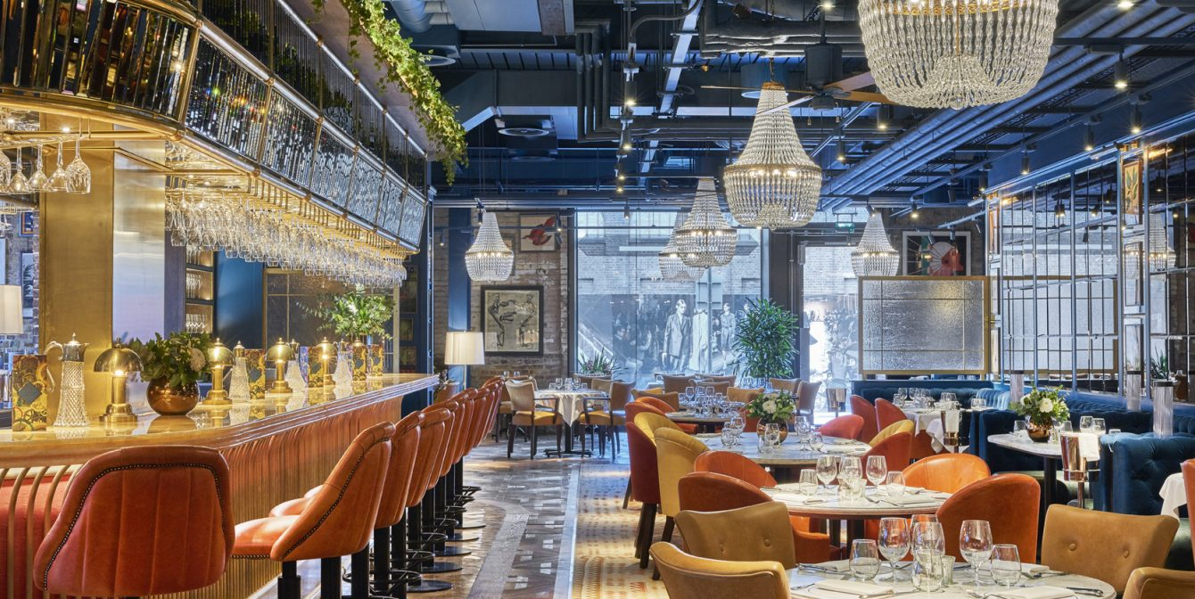 GRANARY SQUARE BRASSERIE: The latest instalment from The Ivy Collection offers an eclectic dining experience in the heart of Kings Cross.
