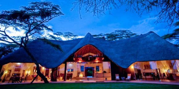 Solio Lodge is nestled away and boasts six luxury lodges