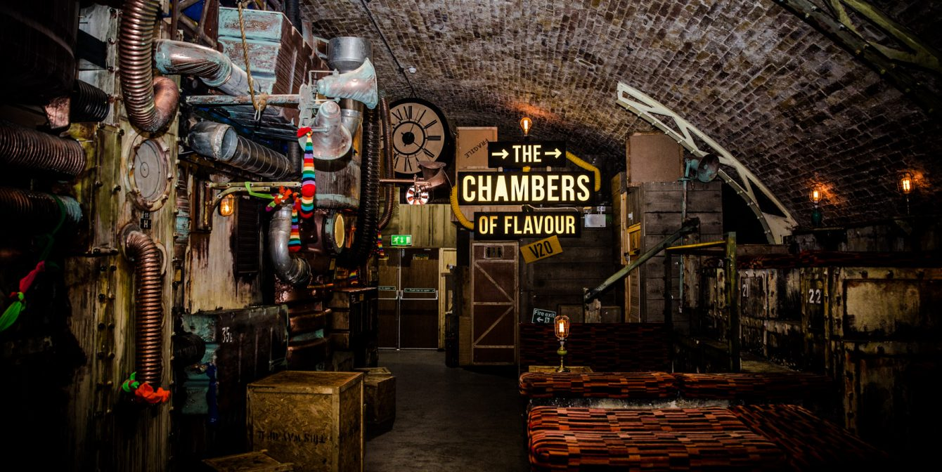 THE CHAMBERS OF FLAVOUR: A secret underground dining adventure to tingle your tastebuds