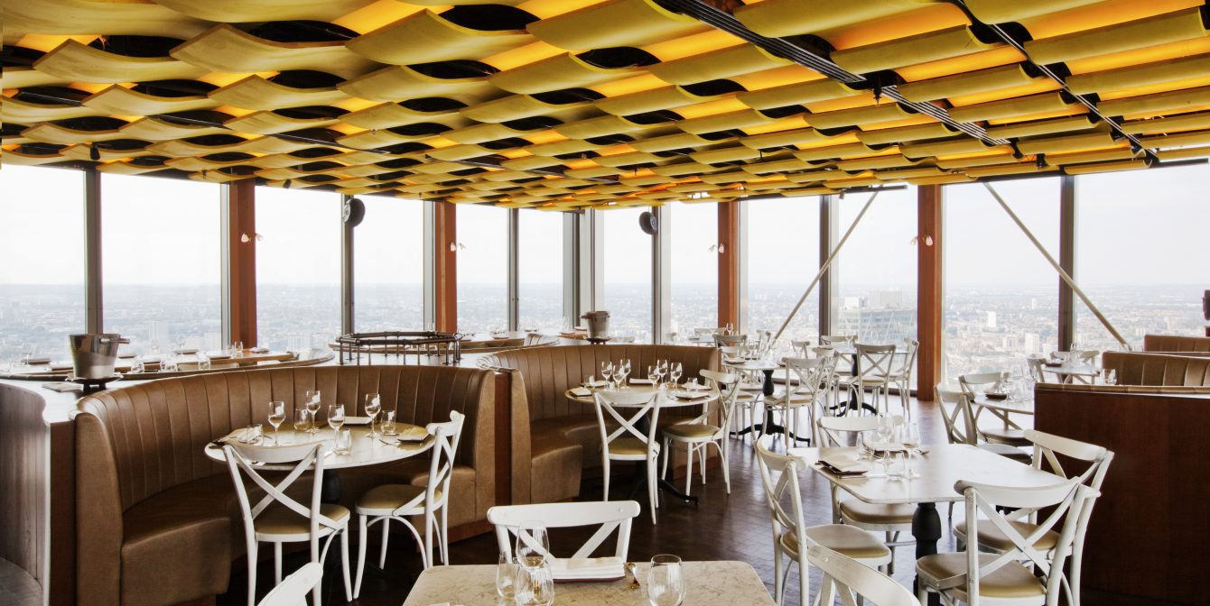 DUCK & WAFFLE: Late-night dinner at this 24-hour dining spot boasting top views over the city and delicious duck