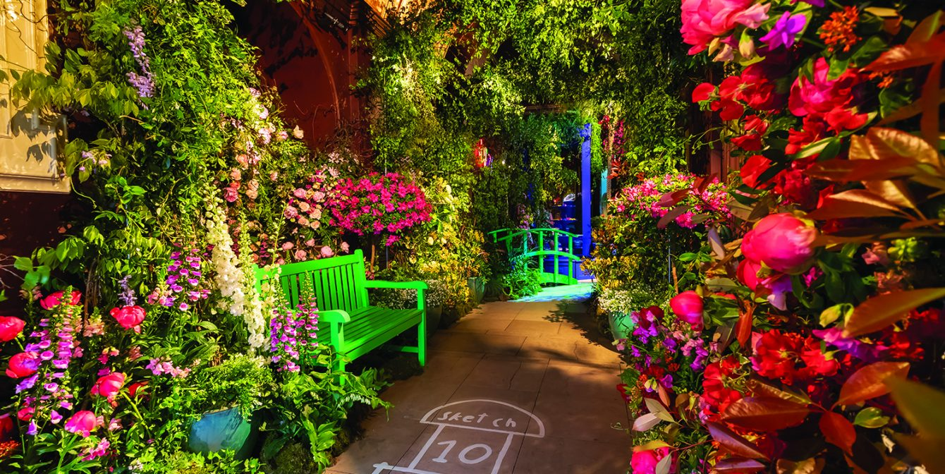 MAYFAIR IN BLOOM: London's dreamiest restaurant and bar gets a floral makeover