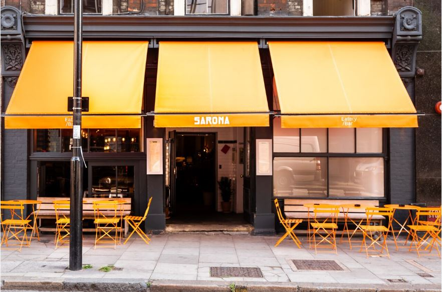 SARONA: New Middle Eastern eatery in Clerkenwell.