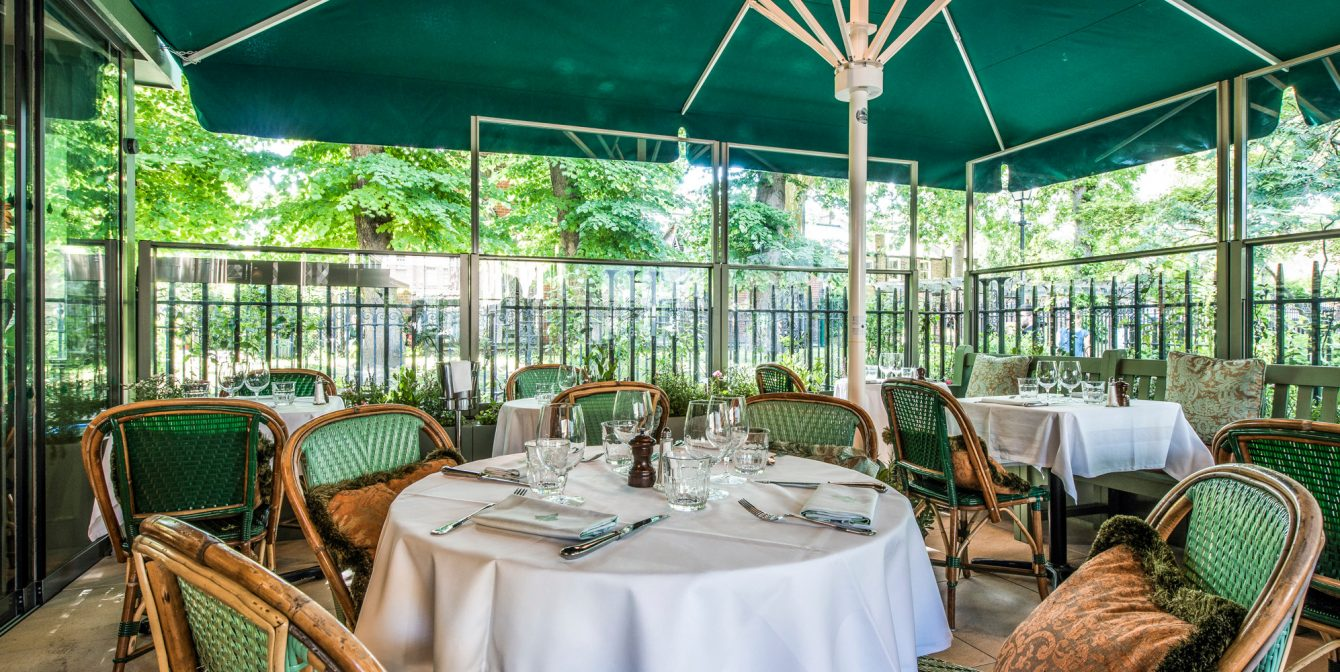 THE IVY KENSINGTON BRASSERIE: Music to one's ears with these special Proms-inspired treats