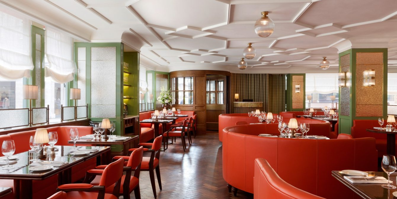 45 JERMYN ST: Tender grouse, knickerbocker glories and a delicious atmosphere at this Mayfair spot