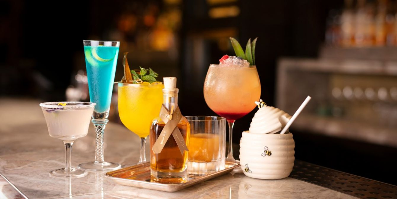 THE RIB ROOM: Travel around the world with these destination-themed cocktails, from Spain to the Maldives