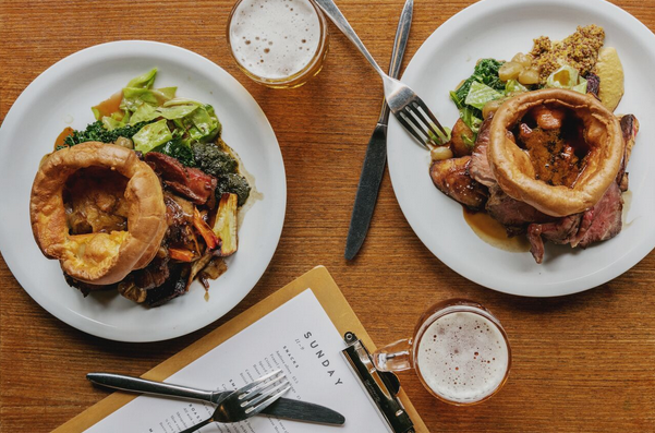 COIN LAUNDRY: The perfect spot on Exmouth Market to get your Sunday Roast fix.