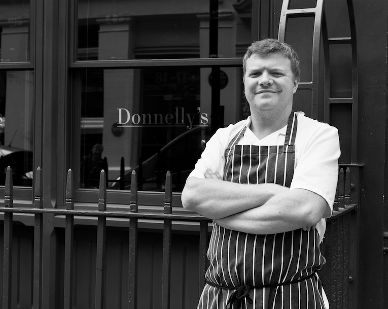 DONNELLY'S: Modern British chef hosts winter residency at The Sun and 13 Cantons until December.