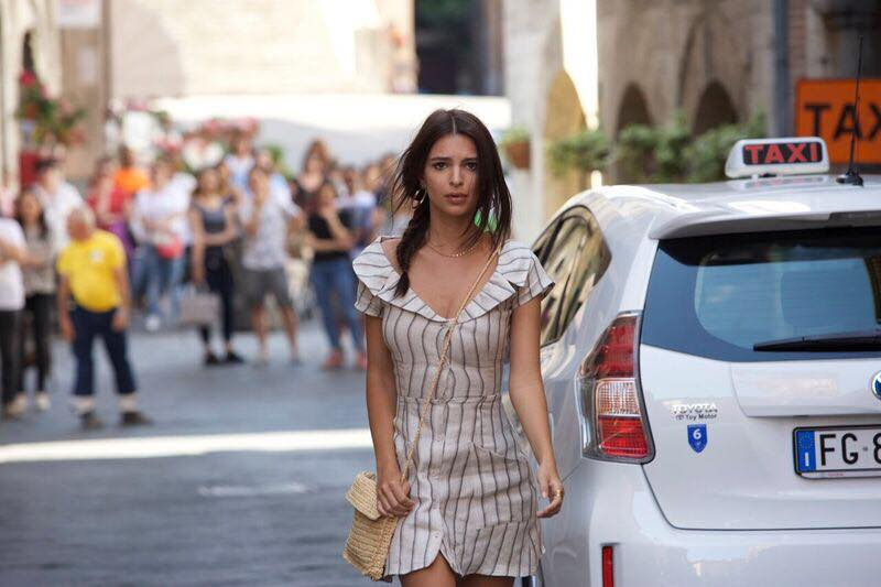 WELCOME HOME: Emily Ratajkowski seduces in this nail-biting psychological thriller set in rural Italy