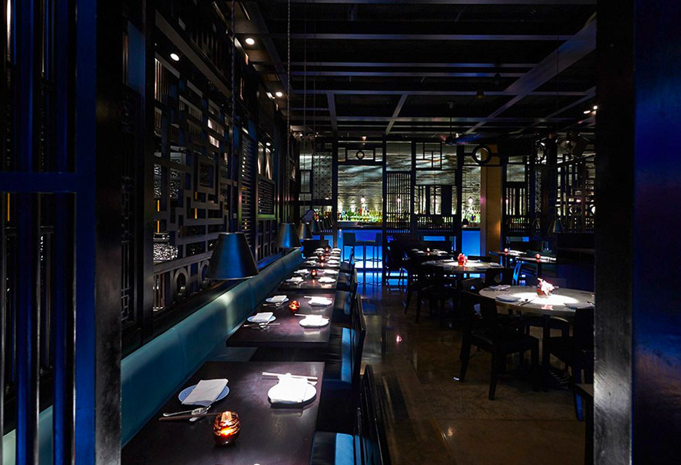 HAKKASAN HANWAY PLACE: A bargain set Sunday brunch, with champagne, dozens of dim sum dishes and a buzzing vibe