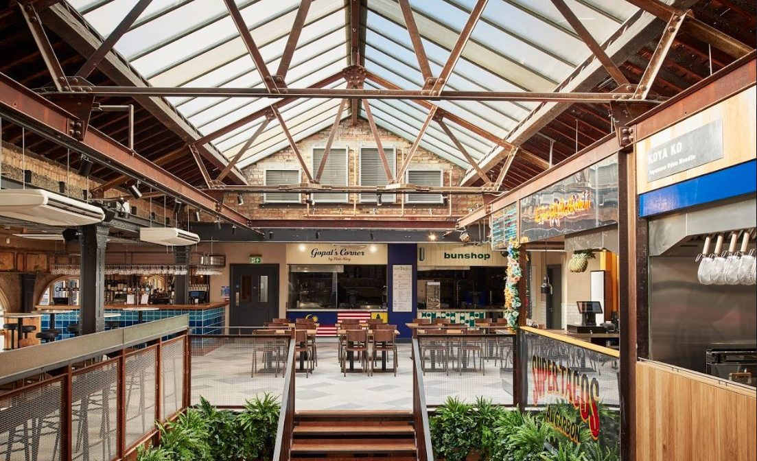 Market Hall Victoria – Former super-club Pacha transformed into the ultimate culinary destination.