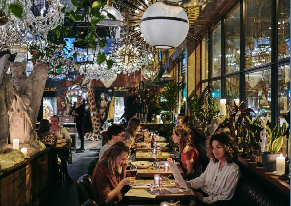 THE DINING ROOM AT MARE STREET MARKET: Hotly anticipated restaurant offers an eclectic approach to decor and modern European cuisine.