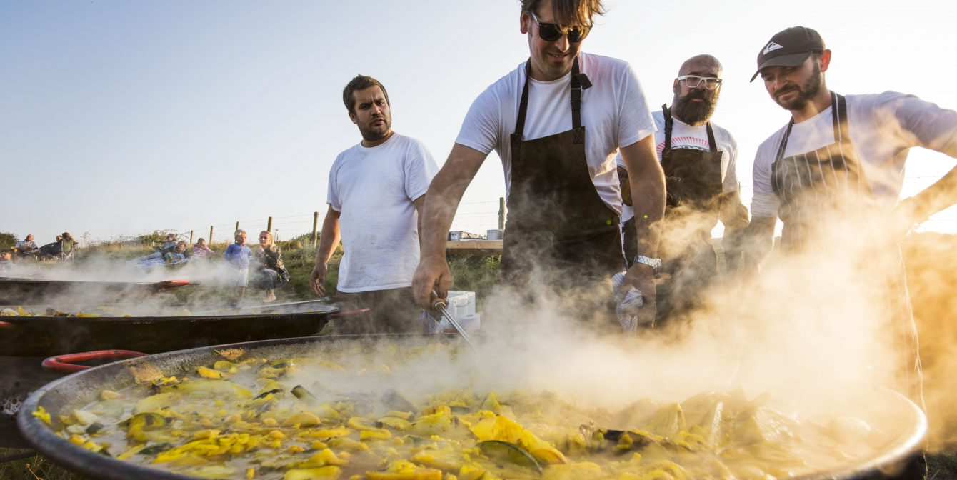 FOODIE BANK HOLIDAY HEAVEN: Cornwall's Porthilly Spirit Festival