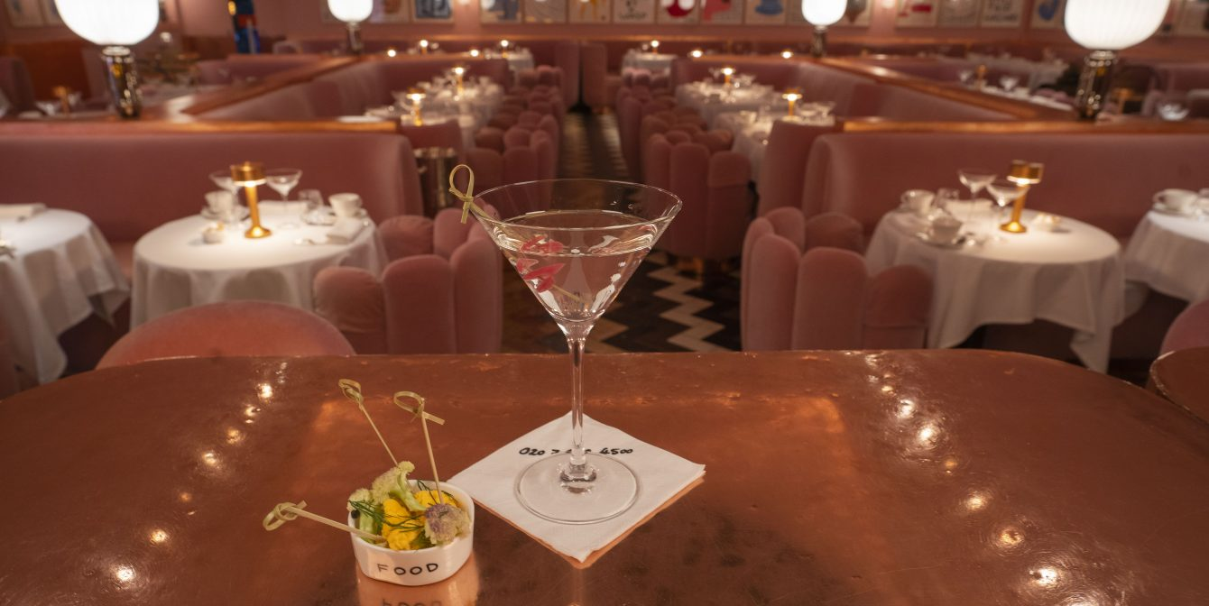 THE BOTANIST GIN X SKETCH: Year-long collaboration gives birth to four new martini cocktails