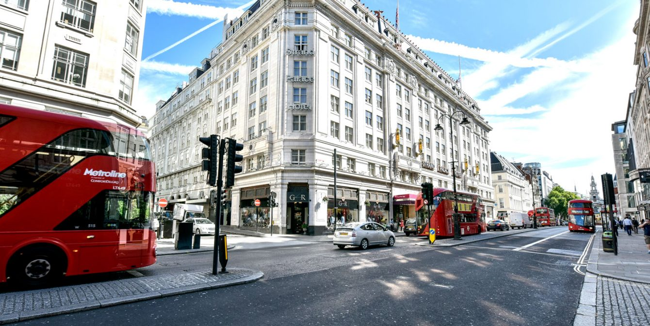 STRAND PALACE HOTEL: 110-year-old central London hotel gets some modern touches after multi-million pound makeover