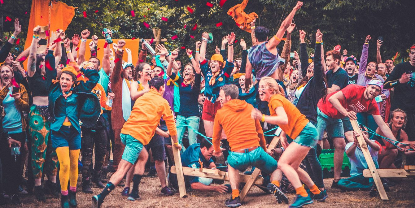 CAMP WILDFIRE: The wickedest and wildest festival with rifle shooting, climbing and woodland partying