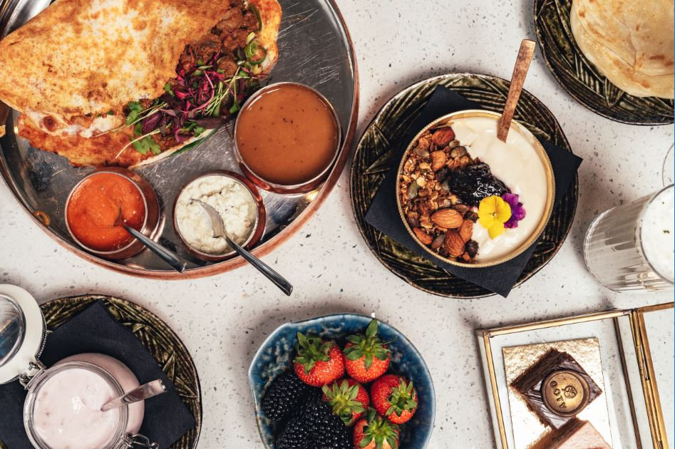 OOTYS: Southern Indian style brunch lands at this luxurious Marelybone establishment.