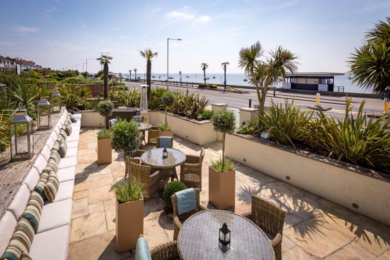 Roslin Beach terrace