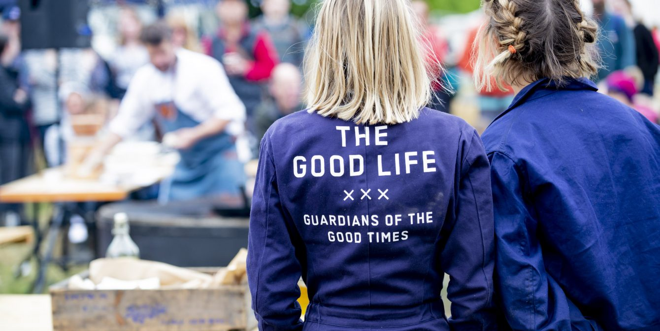 THE GOOD LIFE EXPERIENCE:  Log-burning fires, pumpkin-filled fields and Norman Jaye MBE live at Hawarden Estate