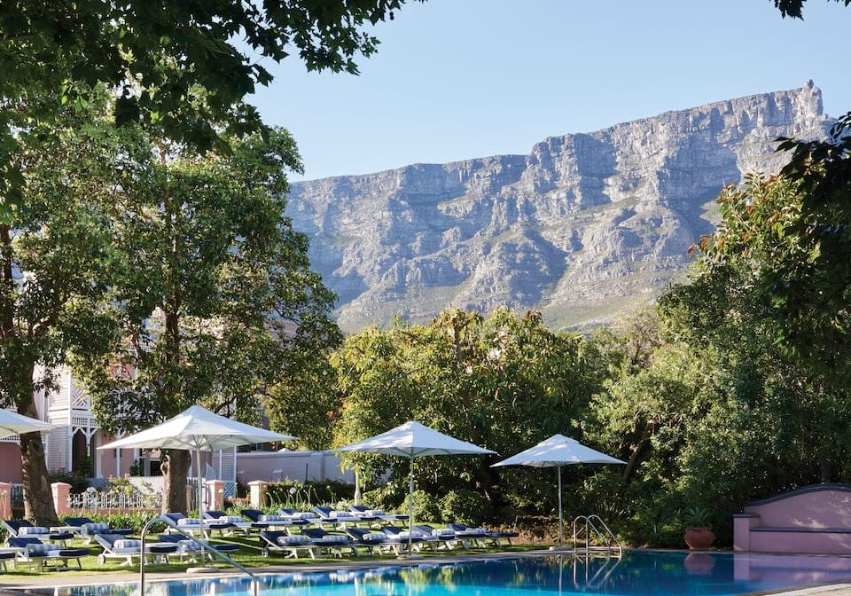 BELMOND MOUNT NELSON: John Lennon and the Dalai Lama among visitors to this hotel with heavenly gardens, sprawling suites and an abundant breakfast buffet