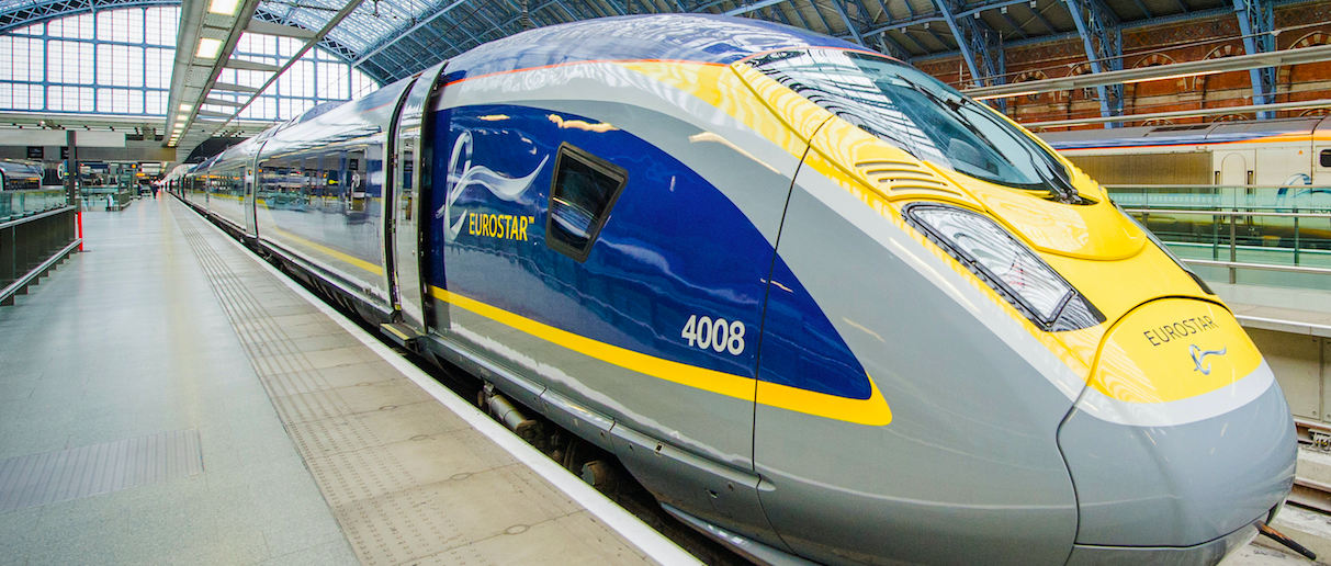 EUROSTAR LONDON TO AMSTERDAM: Direct service with Raymond Blanc crafted menu in business premier