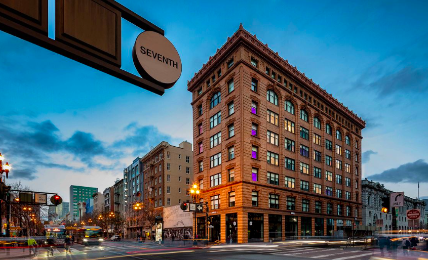 YOTEL SAN FRANCISCO: A hip conversion of a historic building, a hop away from the airport