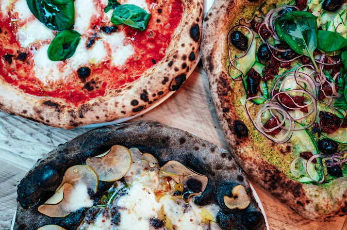 ZIA LUCIA: Pizza perfectionists open in Aldgate, available now on DELIVEROO with 50% off for new customers.