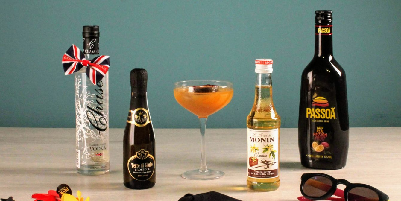 Weekends Just Got Tropical with Passoã and BoroughBox's Pornstar Martini Cocktail Kit
