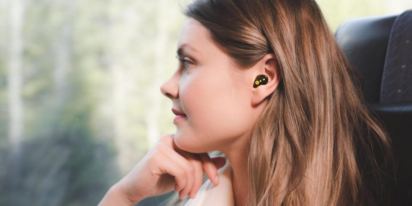 QUIETON: Active noise cancelling earplugs are perfect to block travel sounds,  loud neighbours or snoring partners