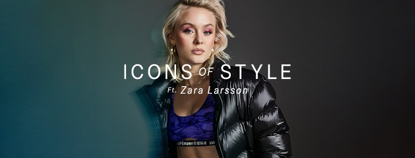 SUPERDRY: Icons of Style line fronted by Swedish music artist Zara Larsson has some killer pieces from bikers to puffers