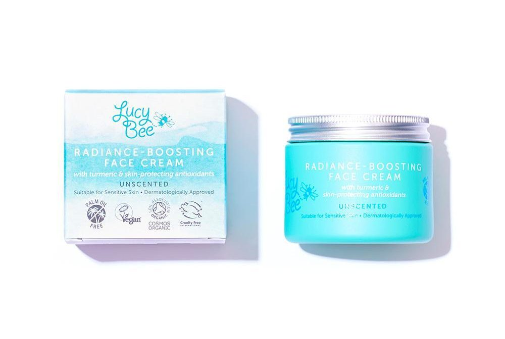 LUCY BEE: Palm oil-free and vegan face cream brightens your complexion – and the awesome natural deodorant is a must-try
